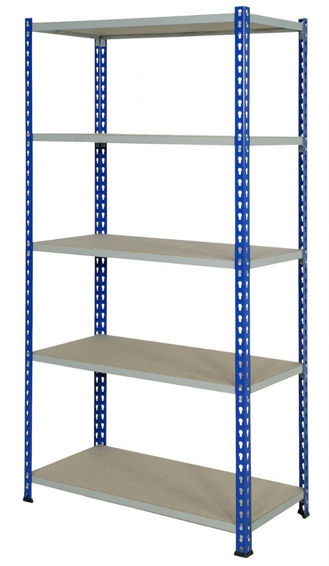 Wide Open Bays - 5 Shelves - 1525 mm Wide
